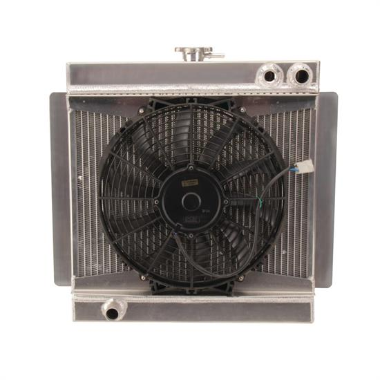 Henchcraft® Chassis Radiator and Fan Assembly
