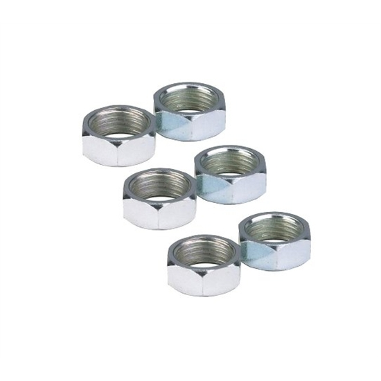 AFCO Reduced Diameter Steel Jam Nuts, 5/8-18 RH, Pack/6