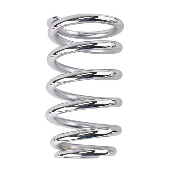 Pro Shocks® 10GM375 C200 Ser. Chrome Tapered Coilover Spring