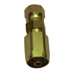 Steel -6 AN Fitting for Aeroquip FC300 High Pressure Hose, Straight