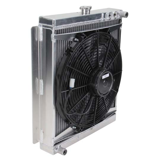 Henchcraft® 200160 Radiator and Cooling Fan Assembly