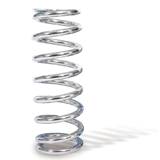 AFCO 28375-1CR 8 Inch Extreme Chrome Coil-Over Spring, 375 Rate