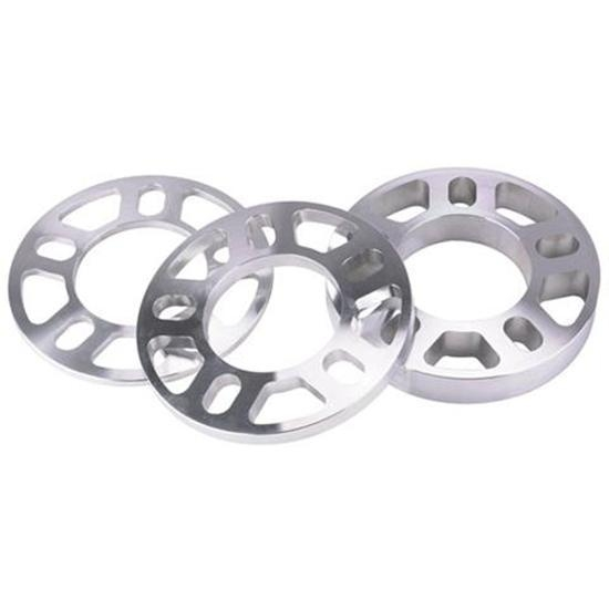 AFCO Billet Aluminum Wheel Spacer, 1/2 Inch Thick