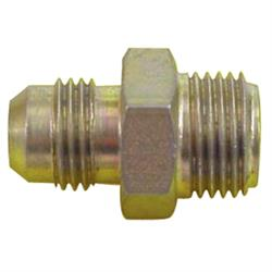 AFCO 37124 65-79 GM Power Steering Box Adapter Fitting-5/8-18 to -6 AN