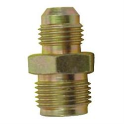 AFCO 37125 1965-1979 GM Power Steering Box Fitting, 11/16-18 to -6 AN