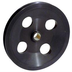 AFCO 37384 Power Steering Pump Replacement 6 Inch V-Pulley Only