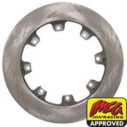 AFCO 6640103 Pillar Vane Flat Rotor, 1.25 Inch, 12.19 Inch Diameter