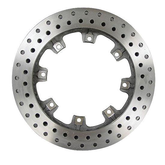 Wilwood 160-5864 Ulltralite 32 Vane Brake Rotor Drilled Iron 8 x 7.0 Bolt Circle