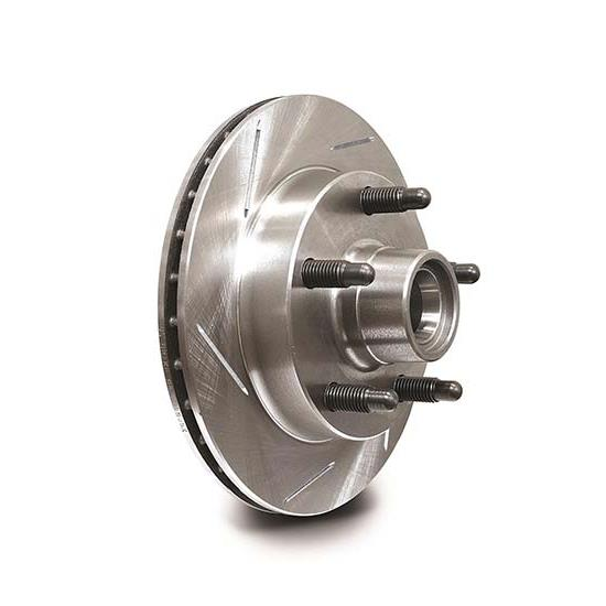 AFCO LH Slotted Pillar Vane Hybrid Hub-Rotor Assembly, 10.13