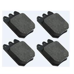 AFCO 6654012 F11 Titanium Compound Brake Pads