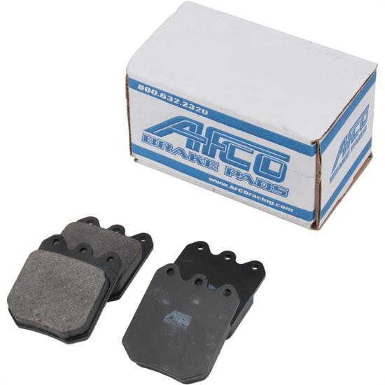 AFCO 6654021 F11 C2 Compound Brake Pads for Steel Rotors