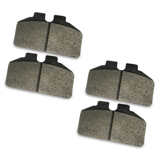 AFCO 6656012 F33 Titanium Compound Brake Pads for 1/4 Inch Rotor