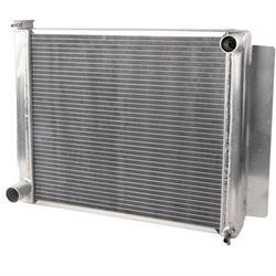 AFCO Performance Aluminum Radiator, 22-3/8 x 19 Inch, Mopar A-Body