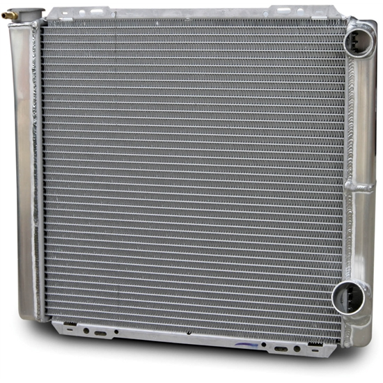 AFCO 80100NDP Double Pass Radiator 22-3/8 Inch 1.5 In Right Side Inlet