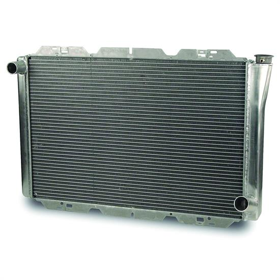 AFCO 80102NPZ GM Performance Aluminum Radiator, 31 x 18.5 In, Polished
