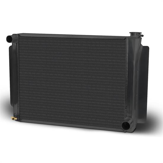 AFCO 80103NPB Black GM Performance Aluminum Radiator-26.75 x 18.5 Inch