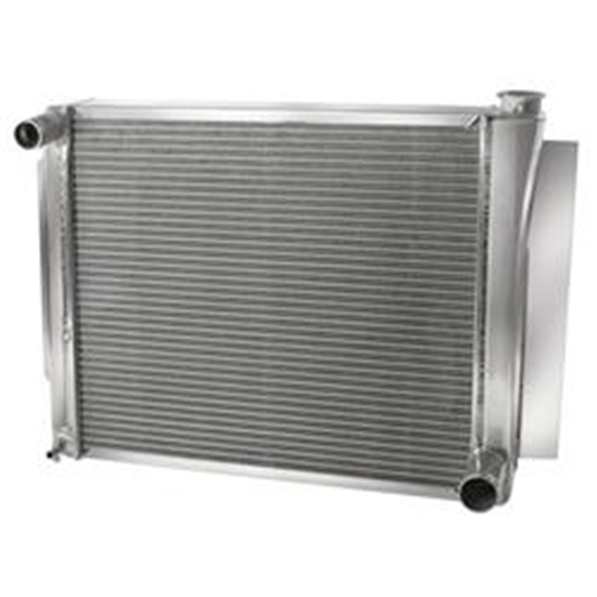 AFCO 80103NP Performance Aluminum Radiator, 26-3/4 x 18-1/2 Inch, GM