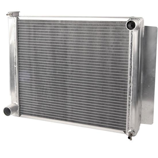 AFCO 80127FNP Mopar E-Body Performance Aluminum Radiator 24 25 x 19 In
