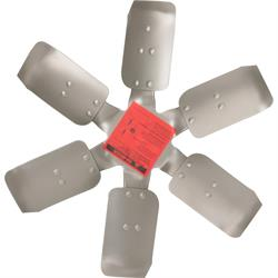 AFCO 80181 HD Six Blade Cooling Fan, 17 Inch Steel