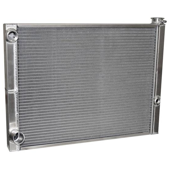 AFCO 80185FNDP-16 Dirt Late Model Lightweight Double Pass Radiator