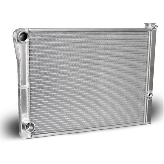 AFCO 80185FNDP-U Dirt Late Model Lightweight Double Pass Radiator