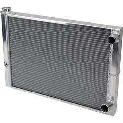 AFCO 80185NDP Dirt Late Model Lightweight Double Pass Radiator