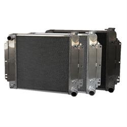 AFCO Direct Fit 1962-67 Chevy II Nova Radiators, Crossflow