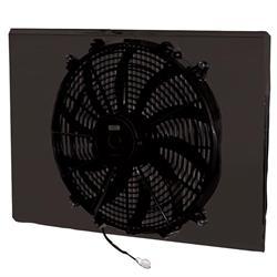 AFCO 80402FAN 2170 CFM Fan/Shroud Assembly for Mopar Radiators