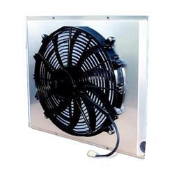AFCO 80406FAN 2170 CFM Fan/Shroud Assembly for GM/Mopar Radiators