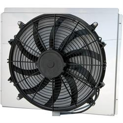 AFCO 80409FAN 2170 CFM Fan/Shroud Assembly for GM Radiators