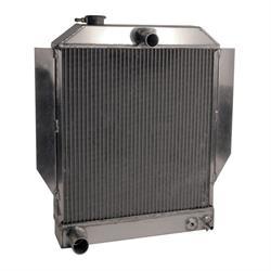 AFCO 1942-48 Ford Aluminum Radiator, Ford Engine