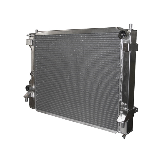 Afco 81283N 2010-Up Mustang Aluminum Radiator, Satin Finish