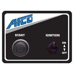 AFCO 85010B Afco Starter Switch Panel, 3 x 4 Inch