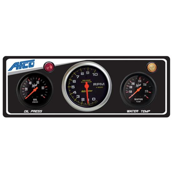 AFCO Gauge Panels with Auto Meter Tach