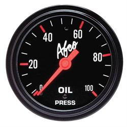 AFCO 85241 Mechanical Oil Pressure Gauge