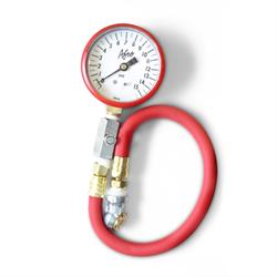 AFCO 85315R 0-15 psi Tire Air Pressure Gauge, Red