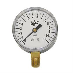 AFCO 85361 0-15 psi Replacement Air Pressure Gauge