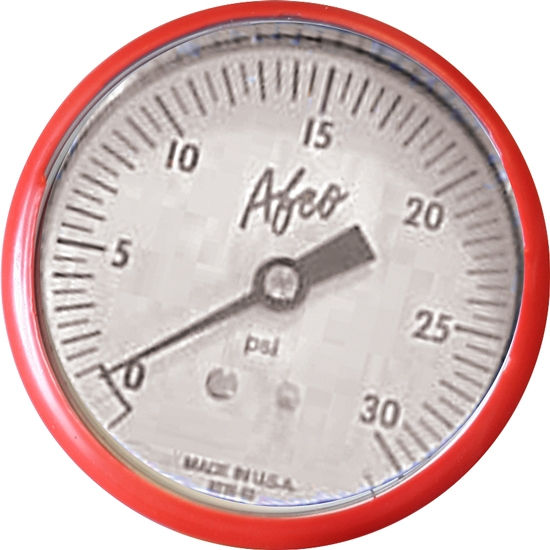 AFCO 85362 0-30 psi Replacement Air Pressure Gauge