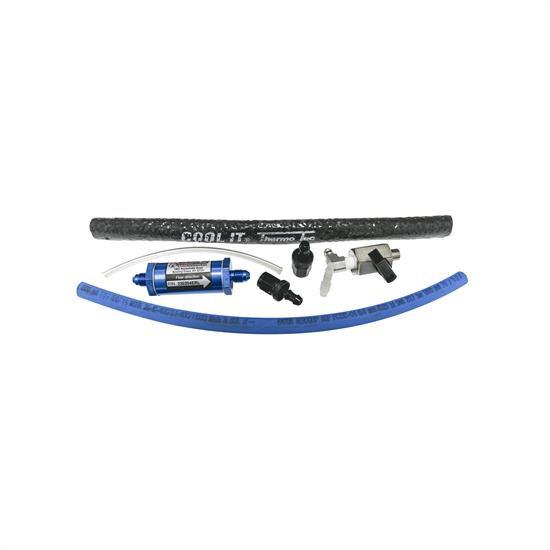 AFCO QM265 Deluxe Fuel Line Kit and Fittings