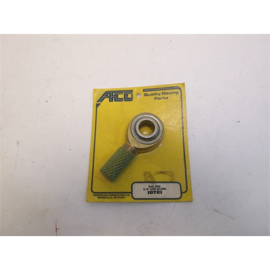 Garage Sale - AFCO 10721 Aluminum Rod End, 3/4 Inch Shank/Hole, Left Hand Thread