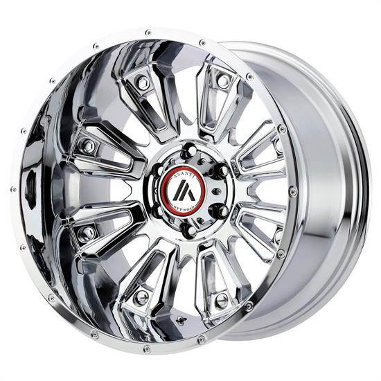 Asanti AB808-20125044NCH Off-Road Series Wheel, 20 x 12