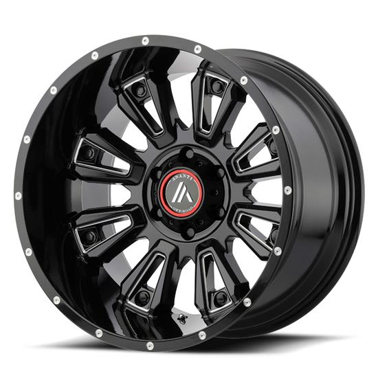 Asanti AB808-20908012NGB Off-Road Series Wheel, 20 x 9