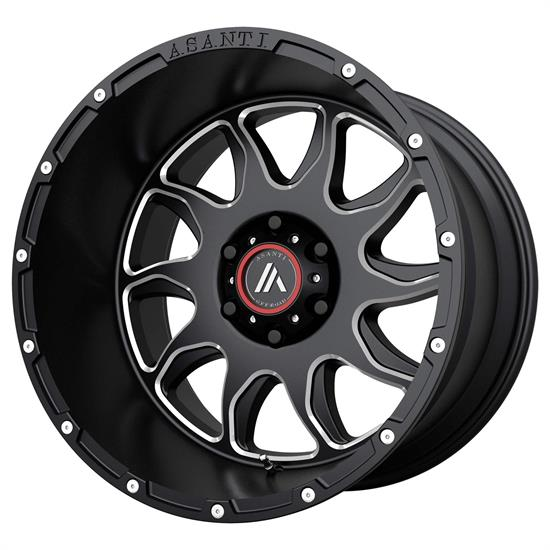 Asanti AB810-20125044NGM Off-Road Series Wheel, 20 x 12