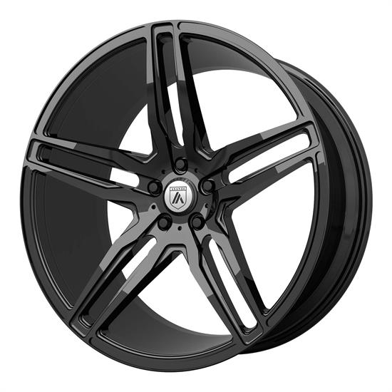 Asanti ABL12-19855638BK Black Label Series Wheel, 19 x 8.5
