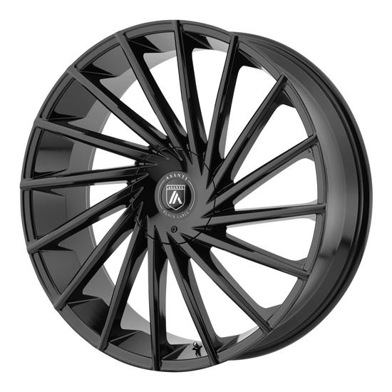 Asanti ABL18-22906630GB Black Label Series Wheel, 22 x 9