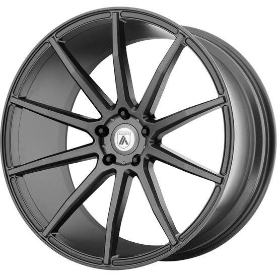 Asanti ABL20-20101240MG Black Label Series Wheel, 20 x 10