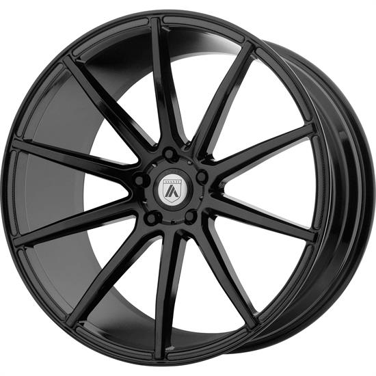 Asanti ABL20-20851520BK Black Label Series Wheel, 20 x 8.5
