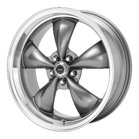 American Racing AR105M7861A Torq Thrust M Series Wheel, 17 x 8