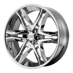 American Racing AR89378068200 Mainline Series Wheel, 17 x 8