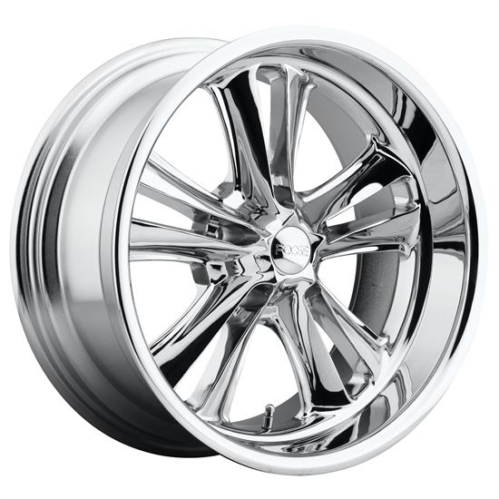 Foose Wheels F09717806545 Knuckle Wheel, 17x8, Chrome Plated